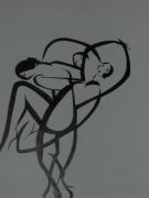 dessin personnages danseuse entremele illusion grace : les danseuses