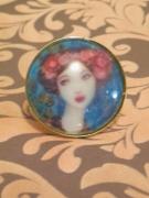 bijoux personnages cabochon de verre cadeaux bijoux fantaisie bague : Bague cabochon femme