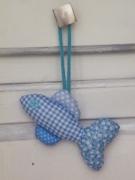 artisanat dart animaux poisson creation ornement decoration : Poisson décoratif pour poignée de porte ou de meuble