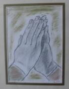 dessin autres mains jointes priere : Prière