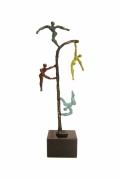 sculpture personnages : couleur ta vie