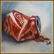 tableau nature morte : coca