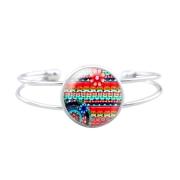bijoux autres bracelet boheme bracelet cabochon bracelet verre bracelet ete : Bracelet bohème
