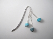 mixte : Marque-page ensemble de 3 perles beues style oriental