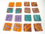 mixte : Jeu de mémoire - 16 mini cartes à motif par paire