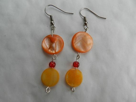 BIJOUX bijoux fantaisie boucles d 'orei estivale  - boucles d' oreilles