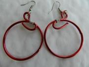 bijoux autres bijoux fantaisie boucles d orei fil d aluminiu : boucles d' oreilles