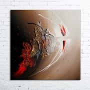 tableau abstrait tableau abstrait peinture relief : RESCHA