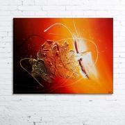 tableau abstrait tableau abstrait peinture relief : VENT SOLAIRE