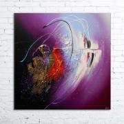 tableau abstrait tableau abstrait peinture relief : CLAVA