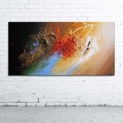 tableau abstrait tableau abstrait peinture relief : GIENA