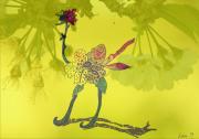 art numerique animaux autruche : zautruche