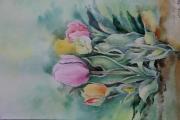 tableau fleurs fleur : tulipe 2016
