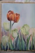tableau fleurs tulip : tulipe