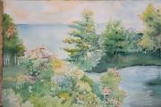 tableau paysages silencieux : printemps