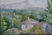 tableau paysages maison : Aix en Province