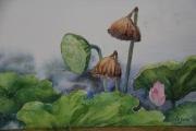 tableau fruits l ete l automne lotus : l'été succède  automne