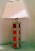 deco design abstrait beton luminaire : Lampe petit modéle en béton COPENHAGUE
