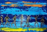 tableau autres fete plage fiesta couleurs : FIESTA A REVEILLON
