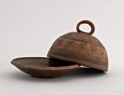 ceramique verre vaisselle pour beurr beurrier ceramique vaisselle ecologique vaisselle faite main : Beurrier céramique