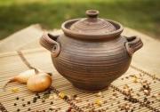 ceramique verre pot pour preparer au vaisselle pot decoratif decoration de cuisin : Pot pour préparation au four en céramique