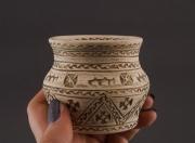 ceramique verre deco fait main vase design design : Petit vase céramique