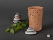 ceramique verre gobelet ceramique gobelet d argil ceramique decorative gobelet ethnique : Gobelet en céramique