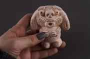 sculpture personnages statuette en argile statuette decoration sculpture statuette faite main : Statuette céramique Castor