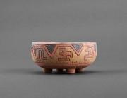 ceramique verre cendrier decor de bureau cadeau pour homme fait ,a main : Cendrier céramique sur pattes