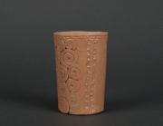 ceramique verre gobelet en ceramique vaisselle ceramique ecologique cuisine ecologique : Gobelet en terre cuite