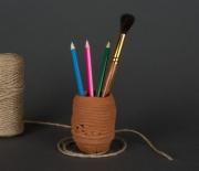 ceramique verre vase en ceramique portefourniture vase ,a fleurs sechee argile ecolo : Vase en terre cuite