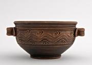 ceramique verre bol ceramique decoration poterie assiettes ceramique : Bol céramique avec manches