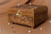 bois marqueterie boite ,a accessoires boite en bois coffret ,a bijoux sculpte en bois : Boîte en bois à bijoux