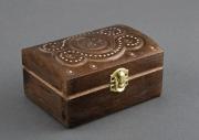 bois marqueterie boite aux bijouterie en bois faite main avec l incrusta : Boîte en bois incrustée