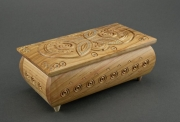 bois marqueterie boite en bois ,a joai bijouterie faite ,a la main boite artisanale : Boîte en bois