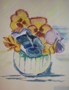 tableau fleurs vase fleur nature mo : vase fleuri