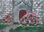 artisanat dart architecture chapelle hortensia eglise village : chapelle hortensia