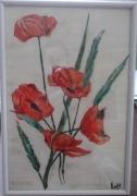 tableau fleurs coquelicots fleurs r : coquelicots
