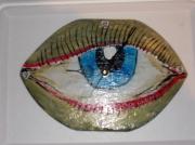 deco design autres oeil visage portrait vue : oeil