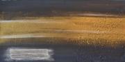 tableau abstrait vitesse passage gris argent : Fugacité