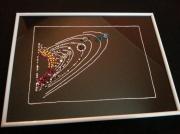 artisanat dart autres espace planetes swarovski : Système solaire