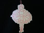 deco design personnages ballerine broderie point de cr : ballerine
