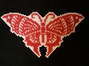 artisanat dart autres papillon broderie po : papillon