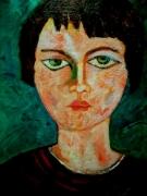 tableau personnages ma petit amis du mar : Portrait de Pascale
