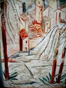 tableau paysages : Vista di Hyeres