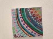 tableau autres succesion couleurs formes geometrie : Raimbow
