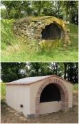 autres architecture fontaine terre cuite badigeons renovation : Fontaine ancienne