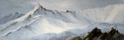 tableau paysages peinture montagne peinture neige neigeglacier mont b : 4266