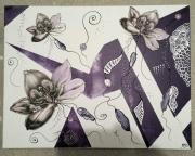 tableau : orchidée 2