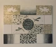 tableau abstrait : géométrie